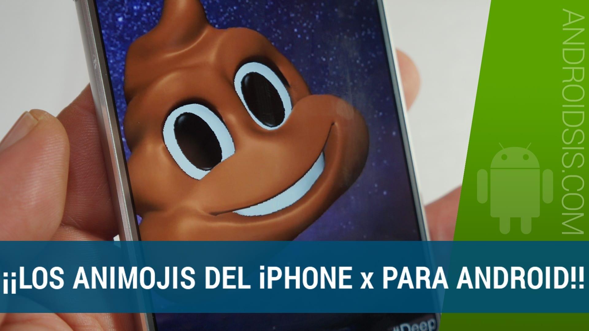 """Los emojis del iPhone X, """"Animojis"""" ahora también para Android"""