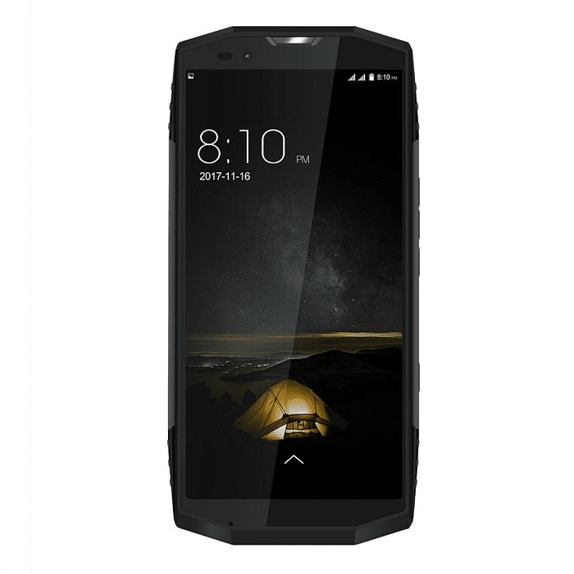 Un telefono con una gran pantalla