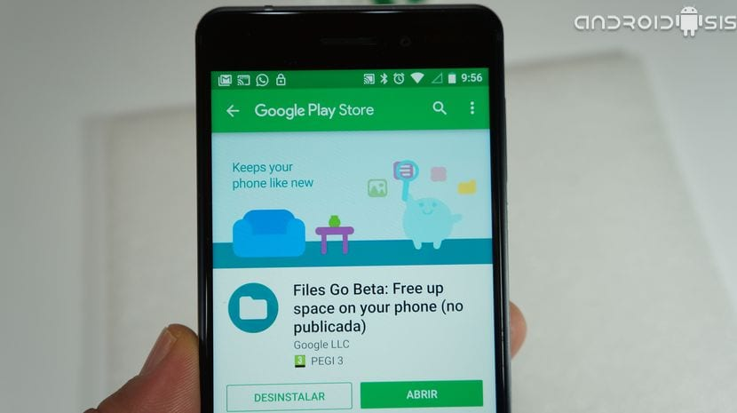 Files Go Beta ya disponible en el Play Store de Google