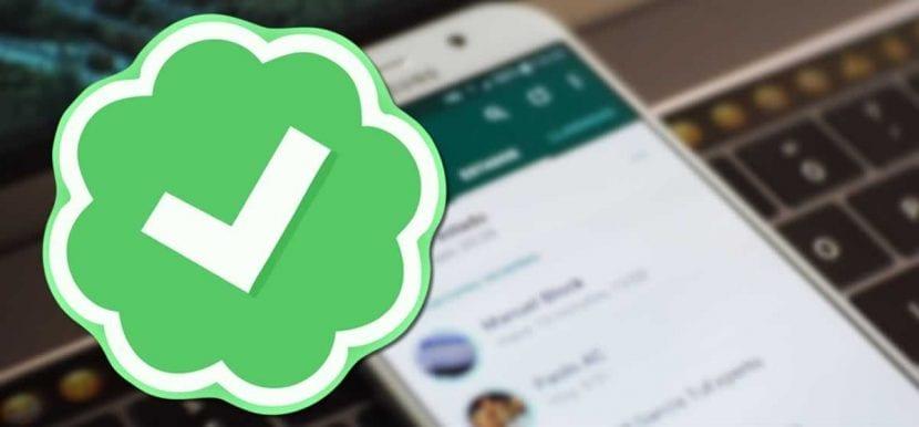 WhatsApp Beta nos muestra el check verde de las empresas