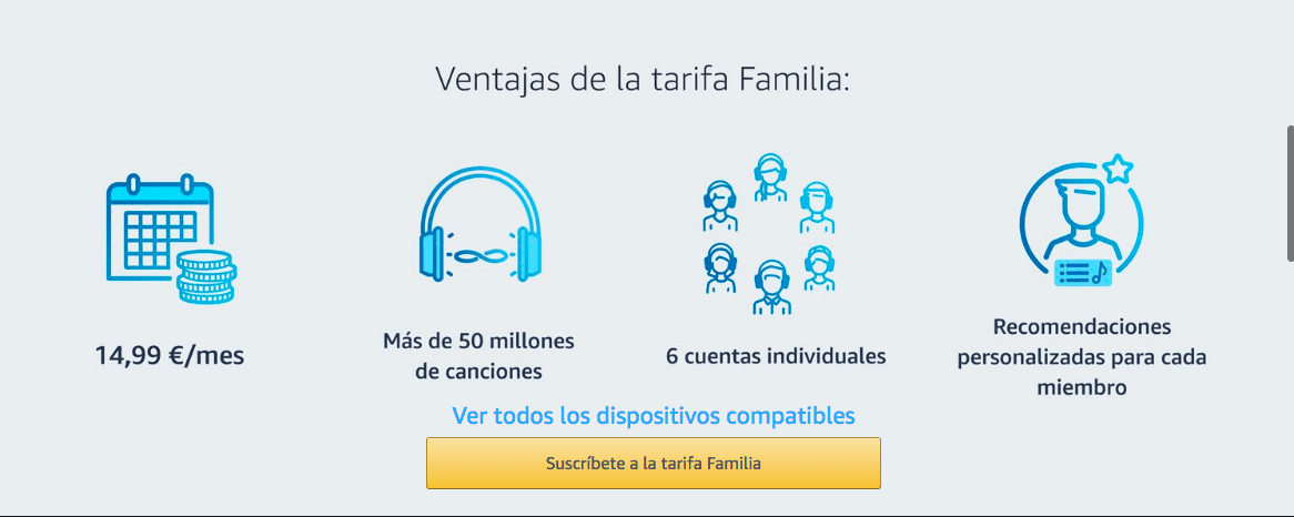 Consigue 2 meses gratis de Music Unlimited, el servicio de música en Streaming d eAmazon que mola mogollón