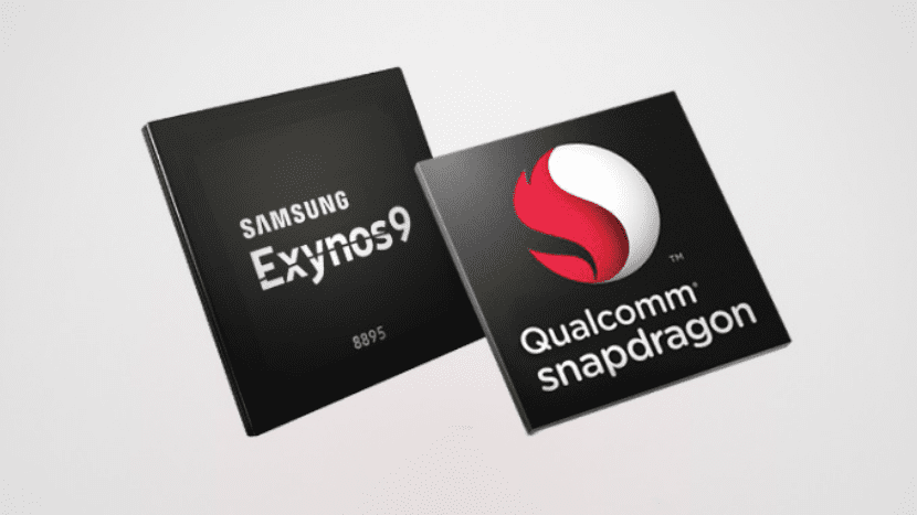 El Samsung Galaxy Note 8 posee un procesador Snapdragon 835 de ocho núcleos o o un Exynos 8895 de ocho núcleo