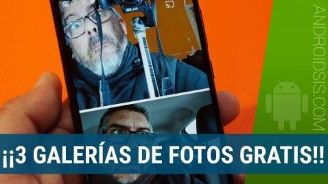 3 APK Galerías de fotos Android