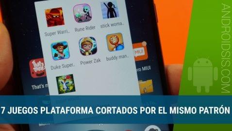 7 Juegos plataforma Android