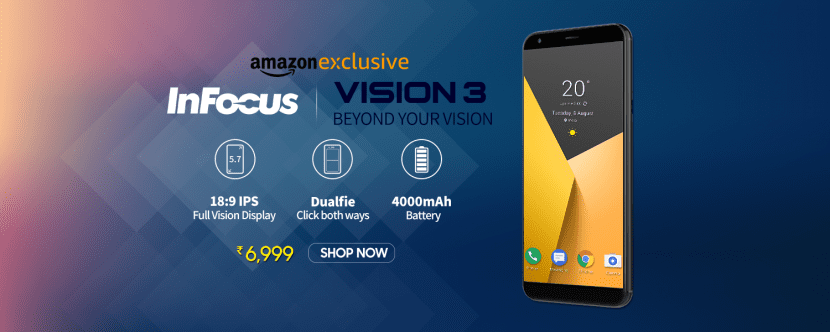 Amazon InFocus Vision 3