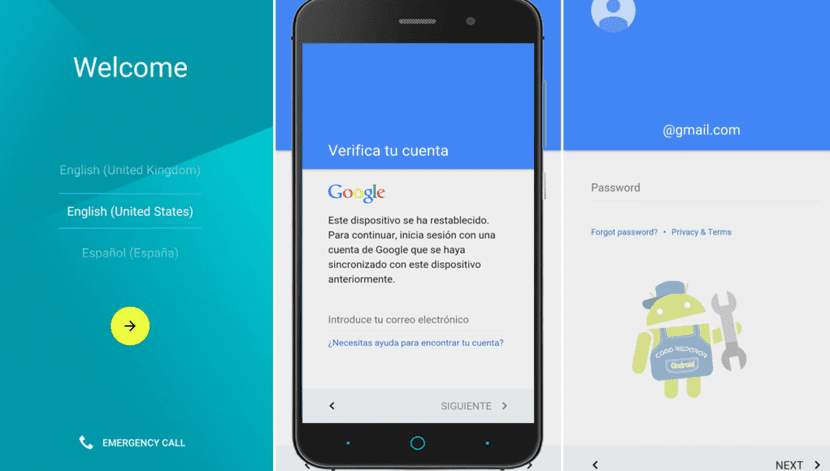 Cuenta Google™ Android