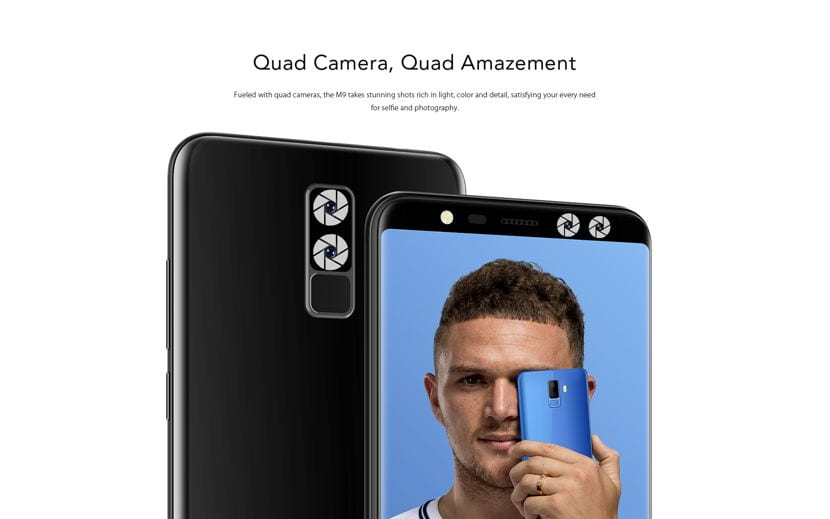 Doble camara LEAGOO M9