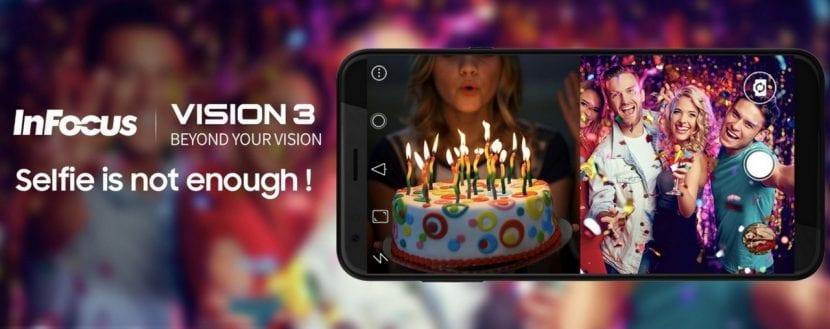 El InFocus Vision 3 promete fotos de buena calidad
