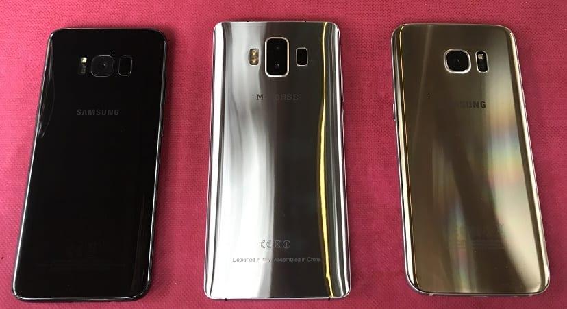 M-HORSE Pure 1 vs Samsung Galaxy S7 y S8