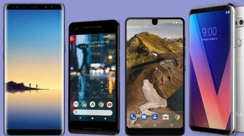 Mejores moviles 2017