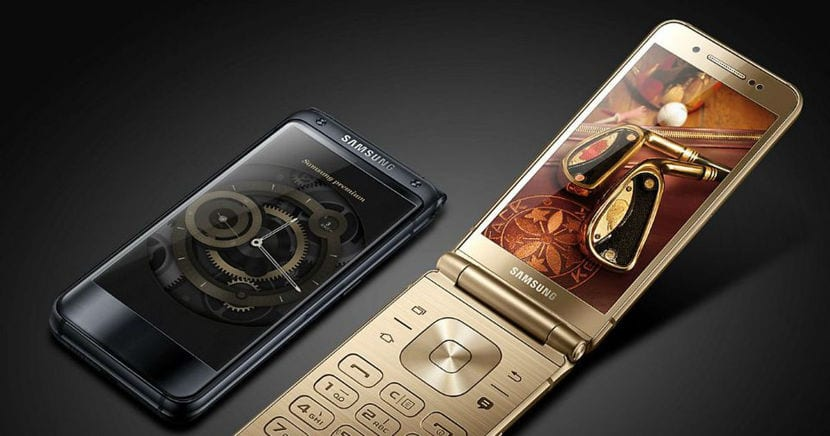 Samsung W2018 frontal