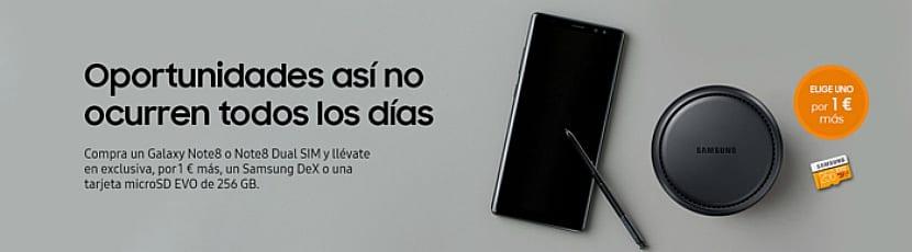 Samsung Galaxy Dex por 1 euro