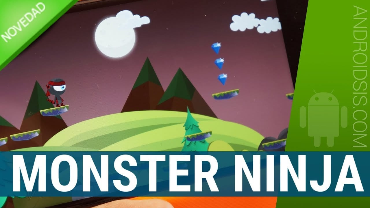 Monster Ninja, un juego plataformas actual y diferente que te va a enganchar