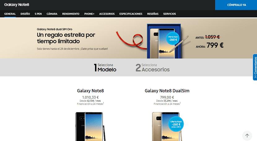 La oferta increíble que hizo Samsung para esta navidad 2017
