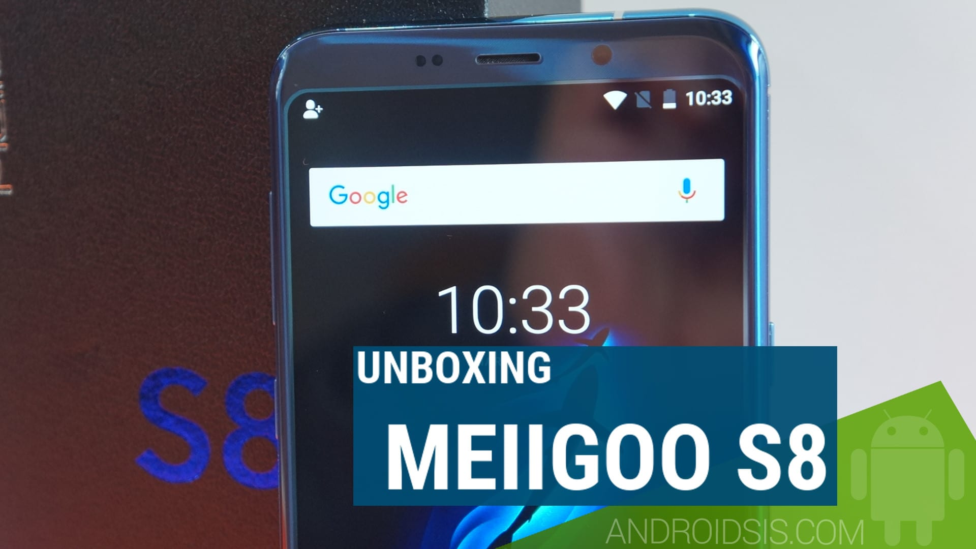 Meiigoo S8 - Unboxing del mejor clon del Samsung Galaxy S8 Plus