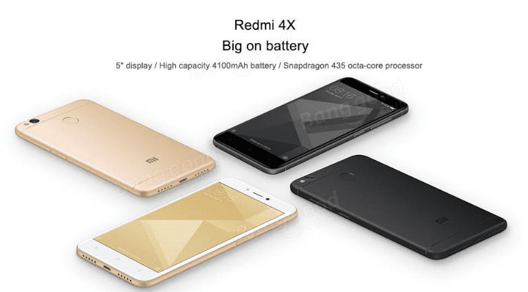 Comprar Xiaomi Redmi 4X barato