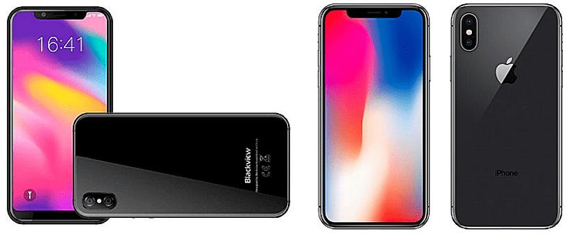 """El Blackview X sería el """"clon"""" del iPhone X"""