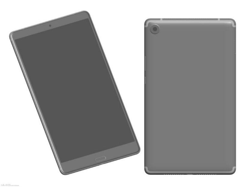Diseño de la Huawei MediaPad M5