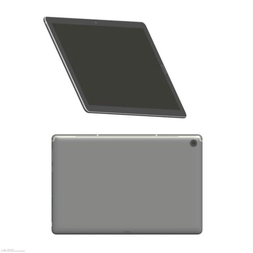 Render de la Huawei™ MediaPad M5