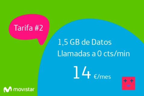 La mejor tarifa de móvil de Movistar