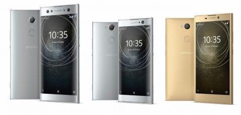 Sony Xperia XA2, XA2 Ultra y L2