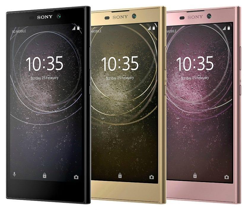 Especificaciones de los Sony XA2 y XA2 Ultra