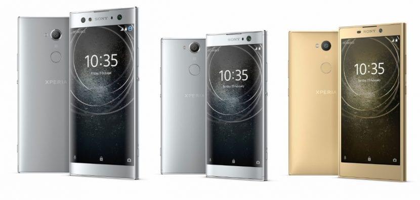 Sony presenta el Xperia XA2, XA2 Ultra y el L2