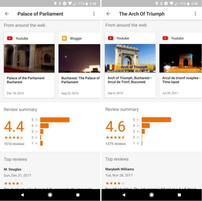 Vídeos Google Trips