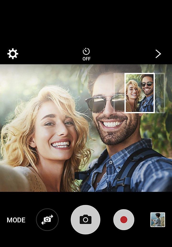 Cámara del Samsung Galaxy A8