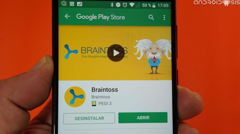 Braintoss gratis en el Play Store