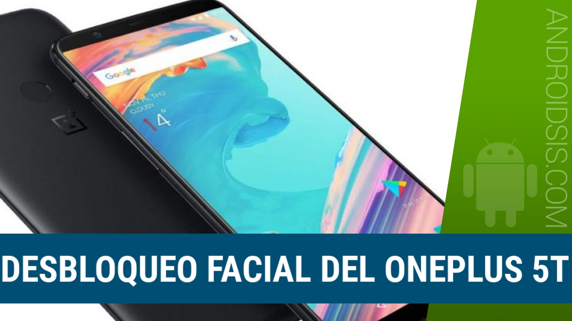 Desbloqueo facial de Oneplus 5T para otros Android