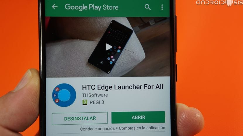 Cómo tener el Edge Launcher del HTC U11 en cualquier Android