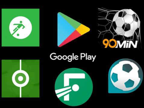 Las mejores aplicaciones de fútbol en la Play Store