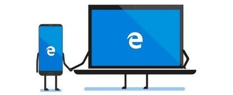 Sincronización de historiales y marcadores en Microsoft Edge