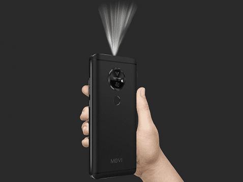 La calidad de proyección del Moviphone es HD