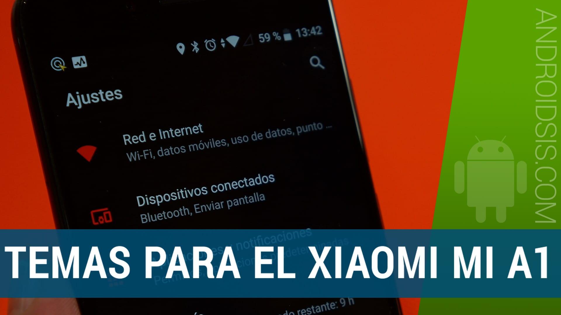 Descargar e instalar temas para el Xiaomi Mi A1 (SKINS)