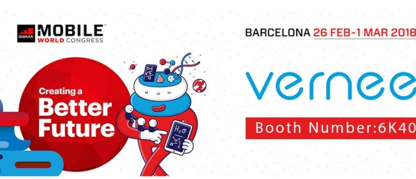 Vernee en el Mobile World Congress de Barcelona