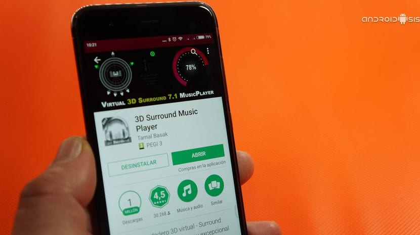 3D Sourround Music Player, ¿Merece la tristeza pagar casi 11(once) euros por una app?