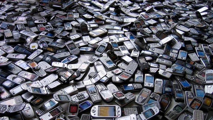 Muchos smartphones