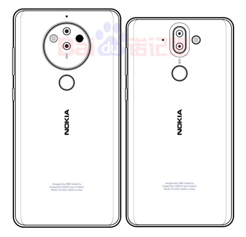 Patente Nokia 8 Pro