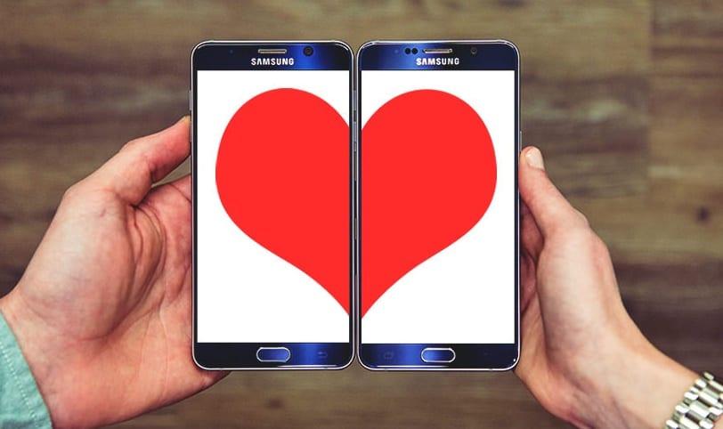 San Valentín smartphones