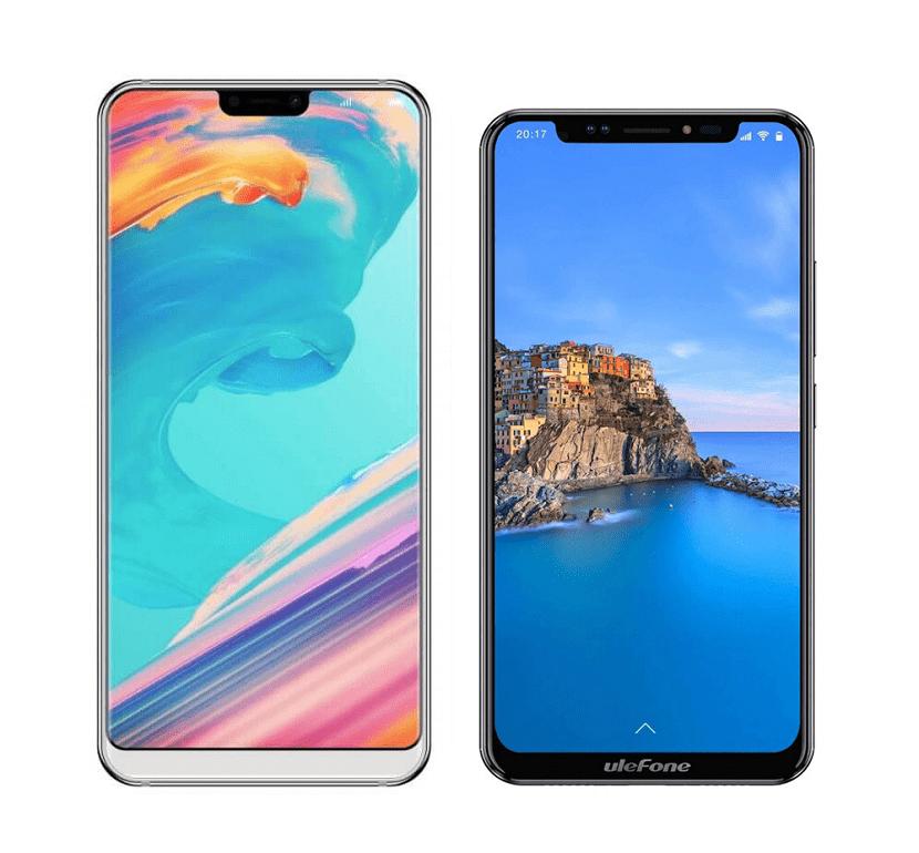 Ulefone T2 Pro y Ulefone X