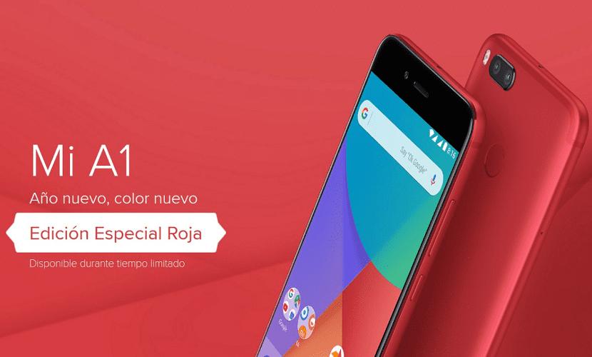 Xiaomi Mi A1 rojo