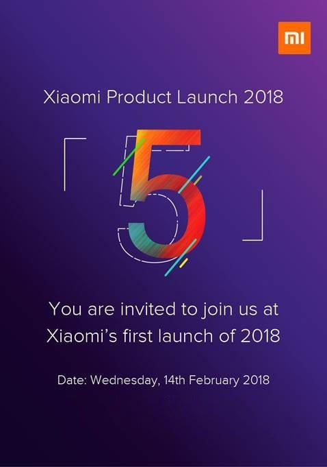 Xiaomi Redmi Note 5 Presentación