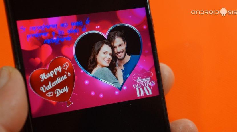 Cómo crear felicitación de San Valentín gratis