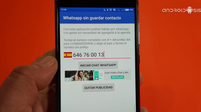 Cómo enviar WhatsApp sin guardar contacto