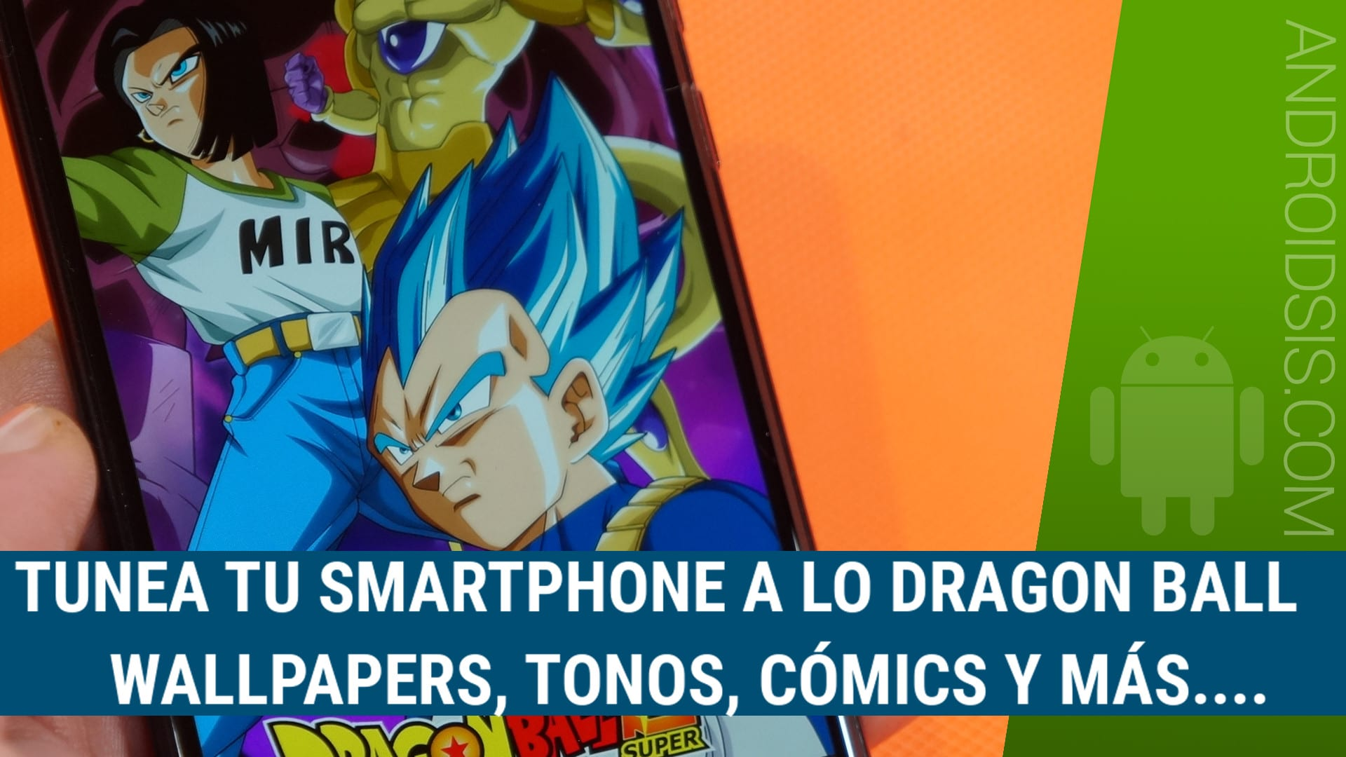 Descargar Wallpapers HD Dragon Ball, tonos, Cómics y más