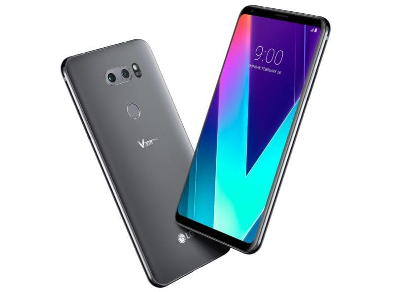 LG V30S ThinQ presentado en el MWC