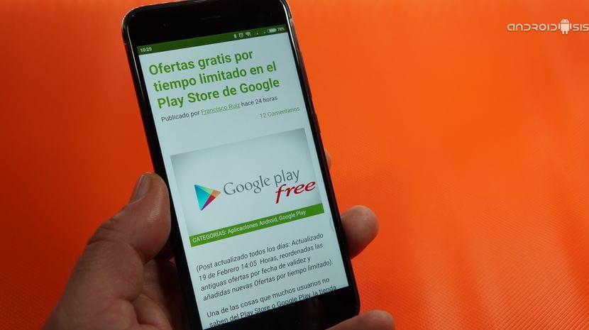 Ofertas por tiempo limitado en el Play Store de Google