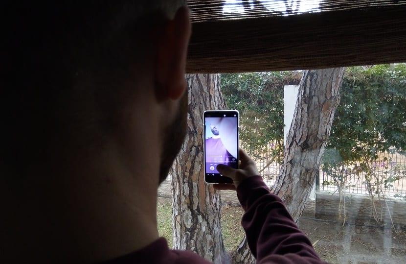 vkworld S8 cámara selfie